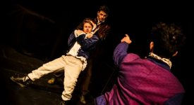 Romeo and Juliet Underground at Buxton Festival.